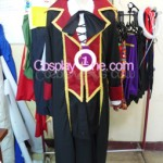 Fate Testarossa from Magical Girl Lyrical Nanoha Cosplay Costume front R prog