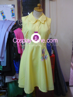 Fluttershy from My Little Pony Friendship is Magic Cosplay Costume front prog