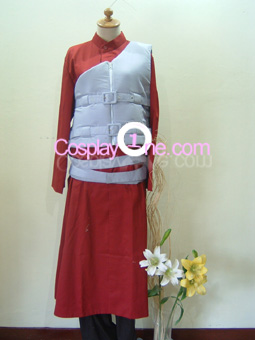 Gaara from Naruto Cosplay Costume front