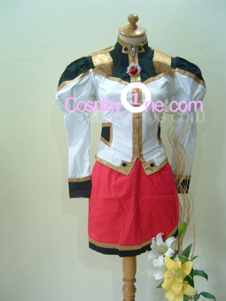 Milfeulle Sakuraba from Galaxy Angel Cosplay Costume front