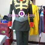 Garma Zabi from Mobile Suit Gundam Cosplay Costume front prog