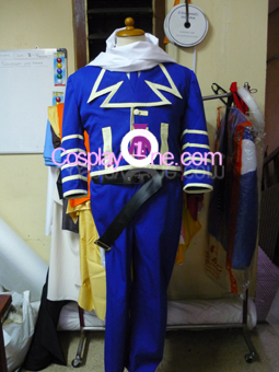 Gauche Suede from Tegami Bachi Cosplay Costume front prog