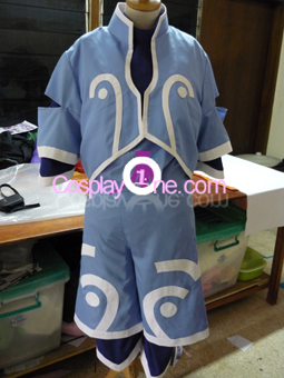 Genis Sage from Tales of Symphonia Cosplay Costume front prog