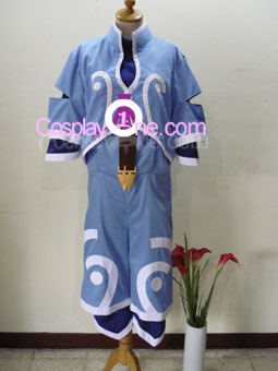 Genis Sage from Tales of Symphonia Cosplay Costume front