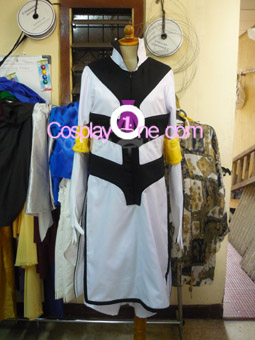 Ggio Vega from Anime Cosplay Costume front prog
