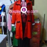 Grell Sutcliff from Black Butler Cosplay Costume front prg