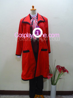 Grell Sutcliff from Black Butler Cosplay Costume front