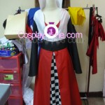Haruhi Suzumiya (Queen of Hearts version) from Haruhi Cosplay Costume front prog