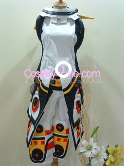 Haseo (white) from Hack Cosplay Costume front