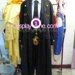 Hazama from Anime Cosplay Costume front prog