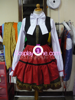 Hungary from Hetalia Cosplay Costume back front prog2