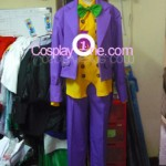 Joker from DC Comics Cosplay Costume front prog