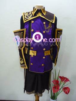 Republic Aketon from Final Fantasy XI Cosplay Costume front