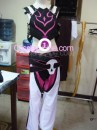 Juri Han from Super Street Fighter IV Cosplay Costume front prog