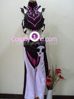 Juri Han from Super Street Fighter IV Cosplay Costume front