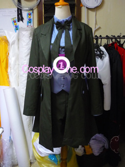 Ciel Phantomhive (Demon version) from Black Butler Cosplay Costume front prog