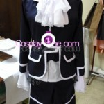 Ciel Phantomhive from Black Butler Cosplay Costume black front prog