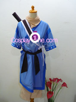 Chester Barklight from Tales of Phantasia Cosplay Costume front