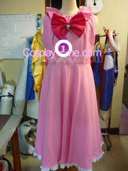 Dejiko from Anime Cosplay Costume front prog