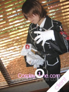 Client Photo 1 Dietrich von Lohengrin from Trinity Blood Cosplay Costume