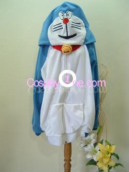 Doraemon Cosplay Costume front2