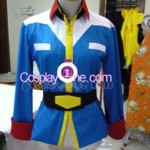 Earth Federation from Mobile Suit Gundam Cosplay Costume front prog