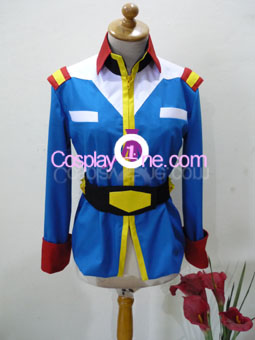 Earth Federation from Mobile Suit Gundam Cosplay Costume front