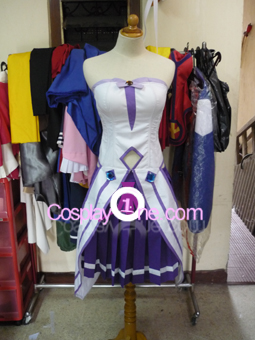 Estelle from Tales of Vesperia Cosplay Costume front prog