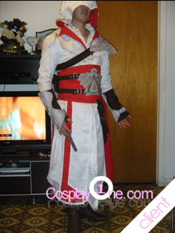 Client Photo 1 Ezio Auditore da Firenze from Assassin Creed Cosplay Costume