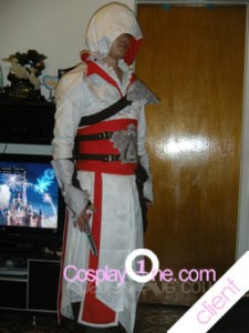 Client Photo 2 Ezio Auditore da Firenze from Assassin Creed Cosplay Costume