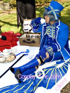 Client Photo 3 Ciel Phantomhive from Black Butler Cosplay Costume