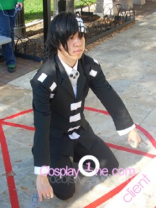 Client Photo 2 Death The Kid for Soul Eater Cosplay Costume
