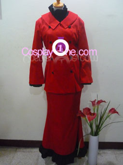 Spain Nyotalia from Hetalia Cosplay Costume front