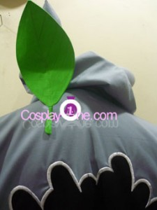 Totoro Hoodie back detail