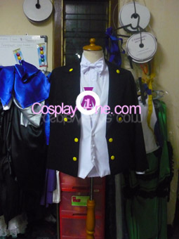 Tuxedo Mask from Sailor Moon Cosplay Costume front prog