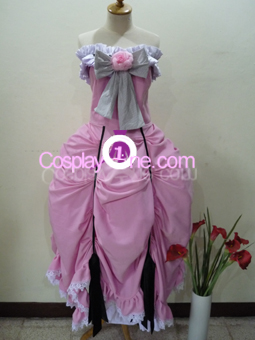 Ciel Phantomhive (Dress version) from Black Butler Cosplay Costume front