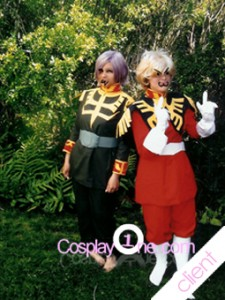 Client Photos Char Aznable and Garma Zabi from Mobile Suit Gundam Cosplay Costume