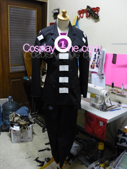 Death The Kid from Soul Eater Cosplay Costume front prog