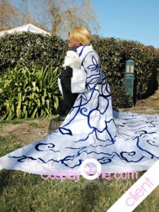 Client Photo 3 Fai D. Flowright from Tsubasa Reservoir Chronicle Cosplay Costume side