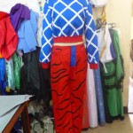 Guido Mista from Anime Cosplay Costume front prog