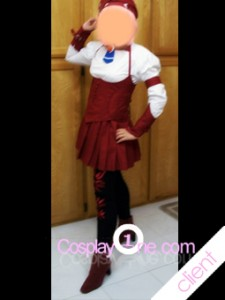 MAL Client Momo Mizrahi from Anime Cosplay Costume