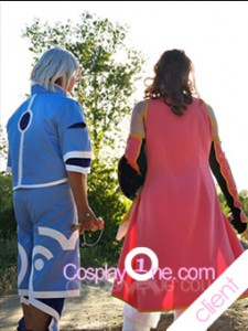 Client Photo Genis Sage from Tales of Symphonia Cosplay Costume