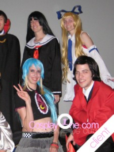 Client Photo 2 Flonne from Disgaea Cosplay Costume