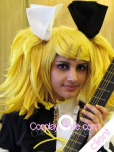 Client Photo1 Meltdown Rin from Vocaloid Cosplay Costume