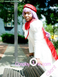 Client Photo 1 Glenda from Anime Cosplay Costume