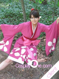 Client Photo 8 Fuu Kasumi from Anime Cosplay Costume