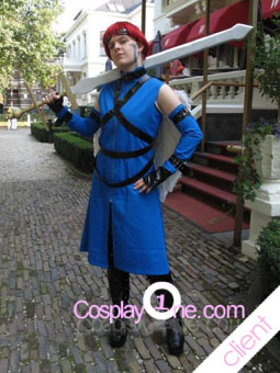 Mal Client Photo Archangel Michael Cosplay Costume