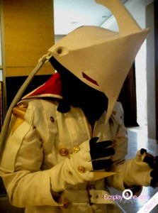 White Izanagi from Persona 4 Cosplay Costume
