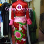 Boa Hancock from One Piece Cosplay Costume back prog