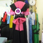 Misaki Nyan from Anime Cosplay Costume back prog